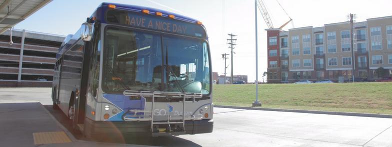 GoDurham bus