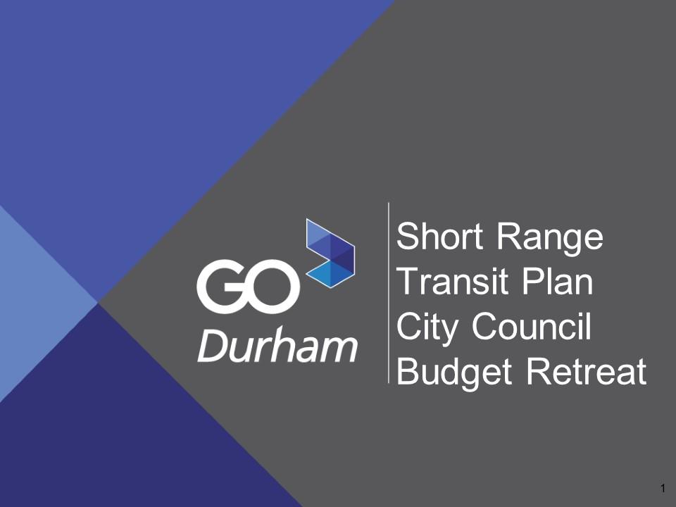 City Council Retreat Presentation